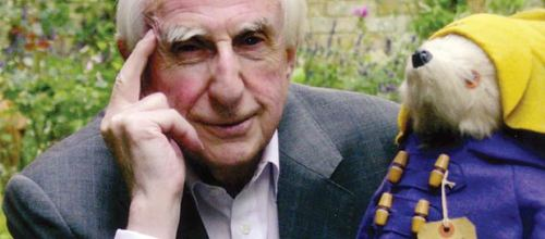 Michael Bond and Paddington