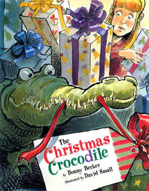the christmas crocodile cover