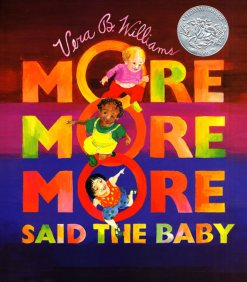 more more more said the baby cover