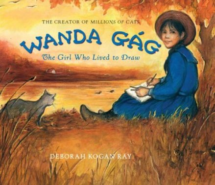 wanda gag the girl who loved to draw cover