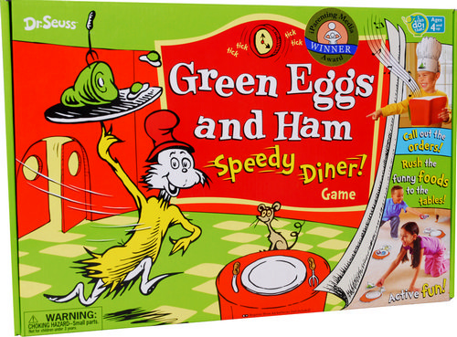 ... conspicuously colorful tales » green eggs and ham speedy diner game