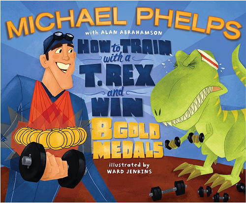how to train with a t rex and win 8 gold medals cover image
