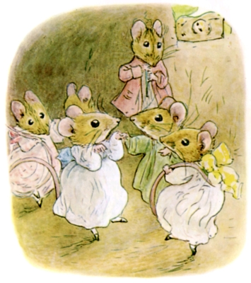 the tale of mrs. tittlemouse illustration beatrix potter
