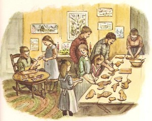 becky's christmas illustration tasha tudor 001