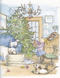 christmas in the country illustration diane goode