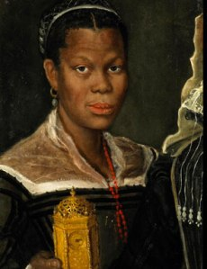 Annibale_Carracci Portrait_of_an_African_Slave_Woman,_ca._1580s._fragment_of_a_larger_painting from blackpastblog dot org