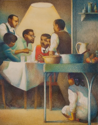 child of the civil rights movement illustration raul colon