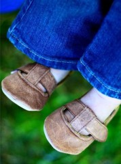 leather shoes from hautetotandbabycouture at blogspot