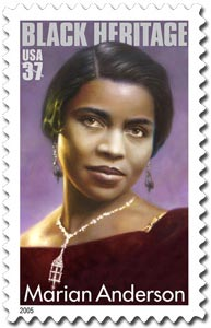 marian anderson postage stamp