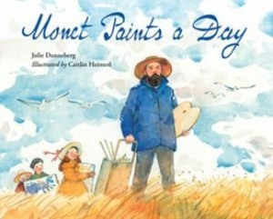 monet paints a day cover image