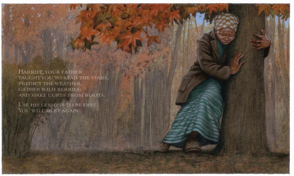 moses when harriet tubman led her people to freedom illustration kadir nelson