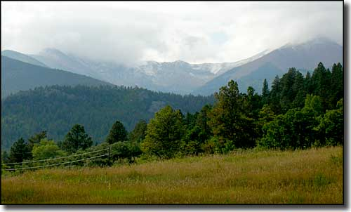 The Sangre de Cristo Mountains