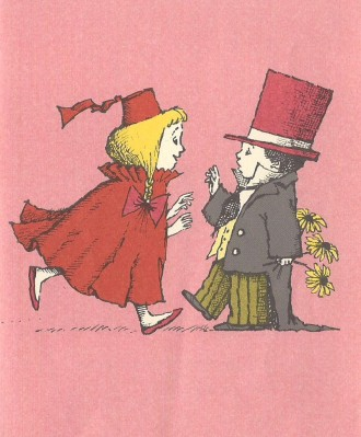 she loves me she loves me not illustration maurice sendak 001