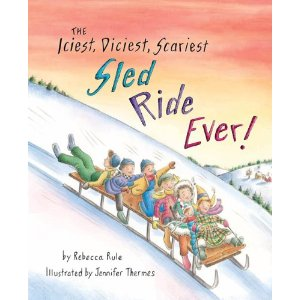 the iciest diciest scariest sled ride ever cover image