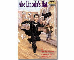 abe lincoln's hat cover image