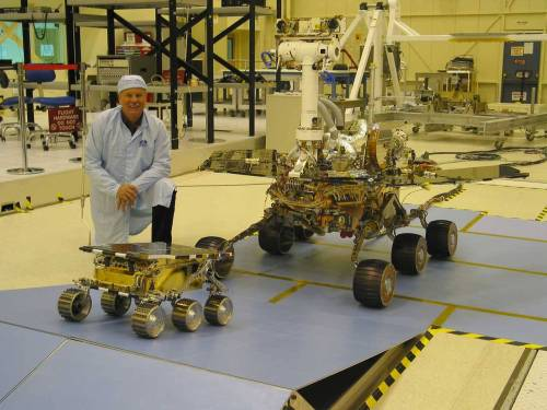 creating the mars rover