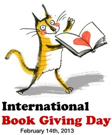 International Book Giving Day badge