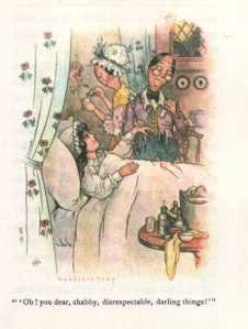 The original illustrations were done by Harrison Cady.