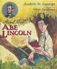 stand tall abe lincoln cover image