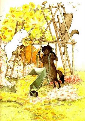 the three little wolves and the big bad pig illustration2 helen oxenbury
