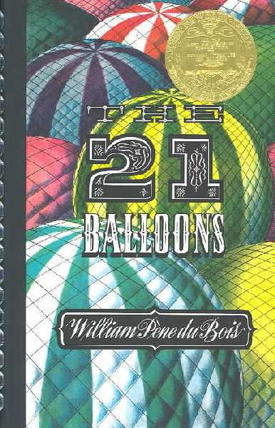 the twenty one balloons cover image