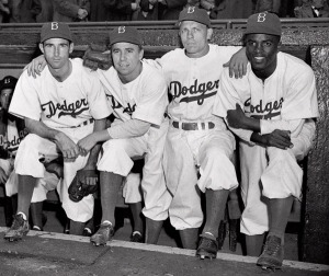 The Dodgers did finally win the World Series in 1955.