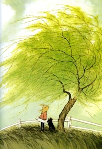 a child's book of poems illustration gyo fujikawa