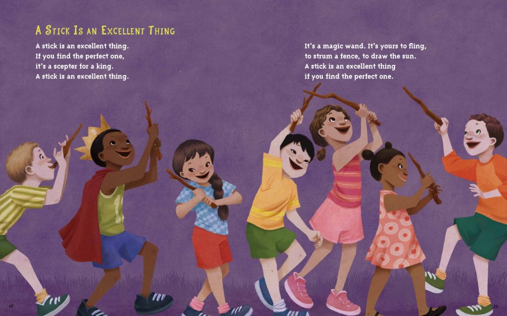 a stick is an excellent thing illustration leuyen pham