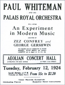 aeolian hall flyer from abbeville dot com