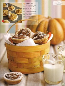 Mmmm...spicy, mini pumpkin pies, made from the pumpkin you grew!