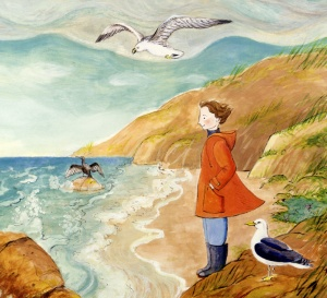 rachel carson and her book that changed the world illustration laura beingessner