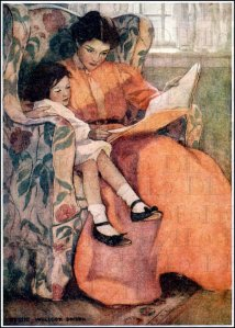 jessie wilcox smith mother reading