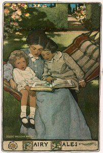 jessie wilcox smith mother reading3