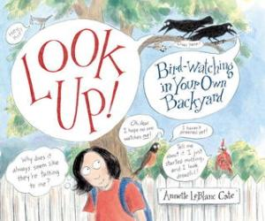 look up birdwatching in your own backyard cover image