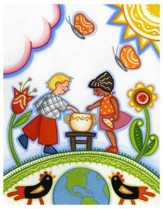 who put the cookies in the cookie jar illustration julie paschkis