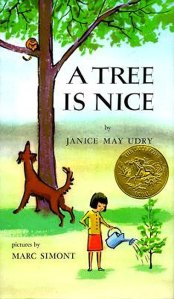 a tree is nice illustrated by marc simont