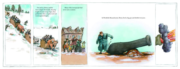 henry and the cannons illustration don brown