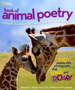 national geographic book of animal poetry cover image