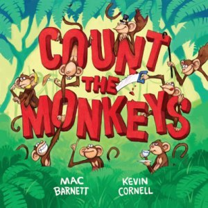 count the monkeys cover image kevin cornell