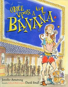once upon a banana cover image david small