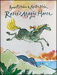 rosie's magic horse cover image quentin blake