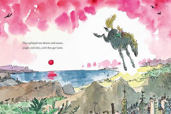 rosie's magic horse illustration quentin blake
