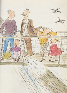here comes the train illustration charlotte voake