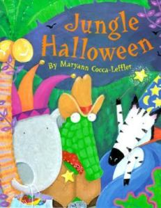 jungle halloween cover image cocca leffler