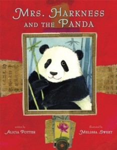 mrs. harkness and the panda cover image melissa sweet