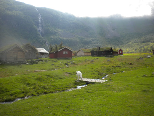 norwegian summer farm from smithsonian journeys