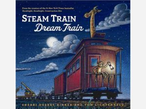 steam train dream train cover image