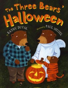 the three bears halloween cover image