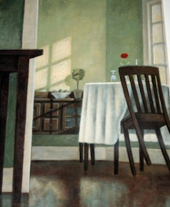 america's white table illustration mike benny