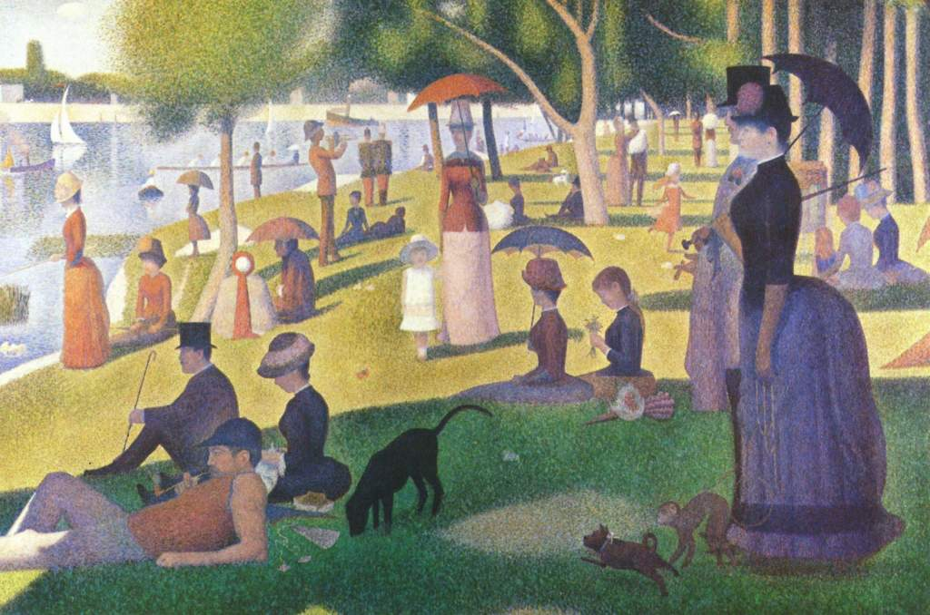 la grand jatte george seurat